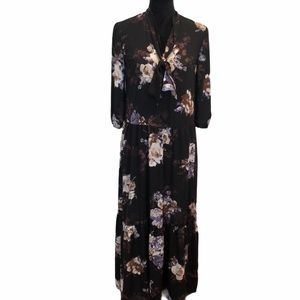 Everly maxi floral layer prairie dress size small